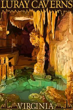 Luray Caverns, Virginia - Wishing Well by Lantern Press