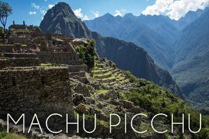 Machu Picchu, Peru - Inca Ruins of Machu Picchu by Lantern Press