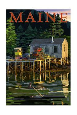 Maine - Lobster Shack by Lantern Press
