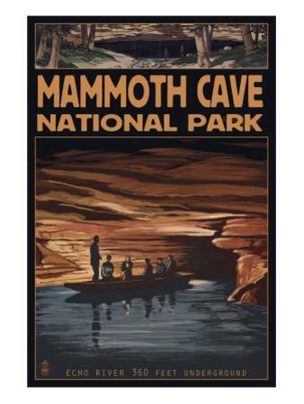 Mammoth Cave National Park, Kentucky, Echo River