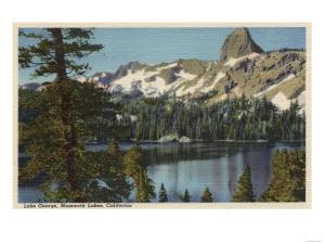 Mammoth Lakes, California - View of Lake George & High Sierra by Lantern Press
