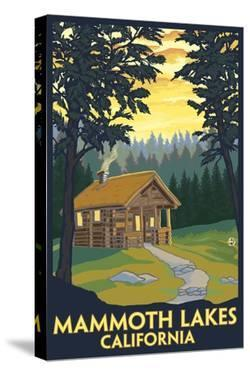 Mammoth Mountain, California - Cabin in the Woods by Lantern Press