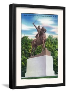 Manchester, New Hampshire - Gen John Stark Statue View by Lantern Press