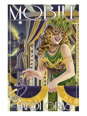 Mardi Gras - Mobile, Alabama by Lantern Press