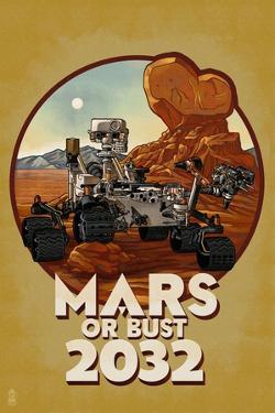 Mars or Bust 2032 by Lantern Press