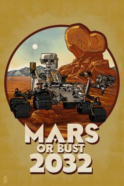 Mars or Bust 2032 by Lantern Press
