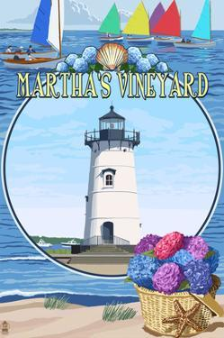Martha's Vineyard - Montage Scenes by Lantern Press