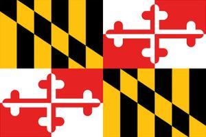 Maryland - State Flag by Lantern Press