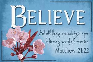 Matthew 21:22 - Inspirational by Lantern Press