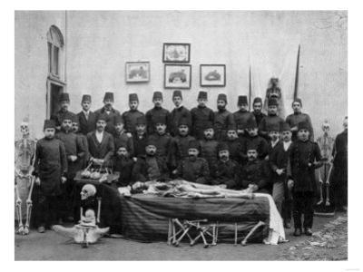 Medical Students with Cadaver Photograph - Istanbul, Turkey by Lantern Press