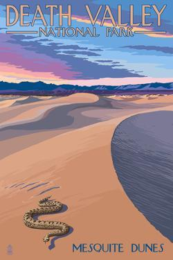 Mesquite Dunes - Death Valley National Park by Lantern Press