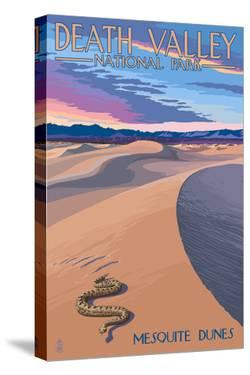 Mesquite Dunes - Death Valley National Park by Lantern Press