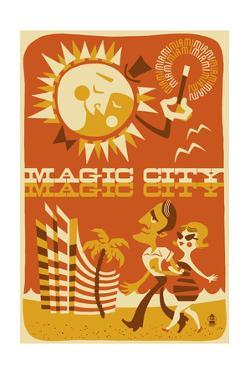 Miami, Florida - Magic City by Lantern Press