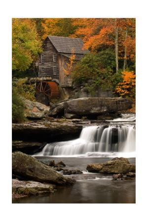 Mill and Fall Colors by Lantern Press