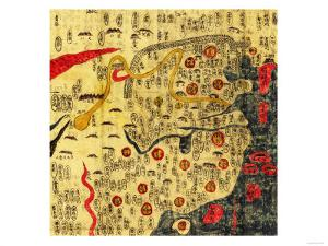 Ming Empire, China - Panoramic Map by Lantern Press