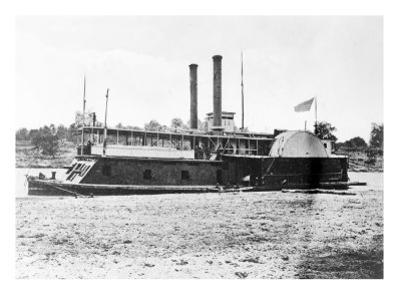 Mississippi River, U.S. Gunboat Fort Hindman, Civil War by Lantern Press