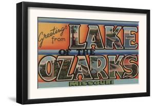 Missouri - Lake of the Ozarks by Lantern Press