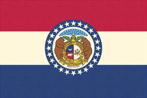 Missouri State Flag by Lantern Press