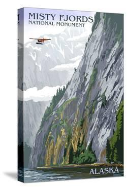 Misty Fjords and Float Plane - Ketchikan, Alaska by Lantern Press