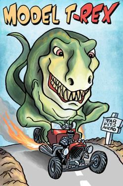 Model T-REX Dinosaur by Lantern Press