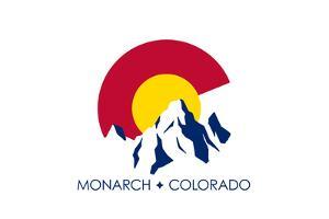 Monarach, Colorado - C and Mountains by Lantern Press