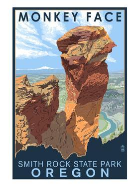 Monkey Face - Smith Rock State Park, Oregon by Lantern Press