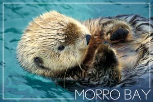 Morro Bay, California - Sea Otter by Lantern Press