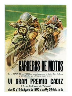 Motorcycle Racing Promotion by Lantern Press