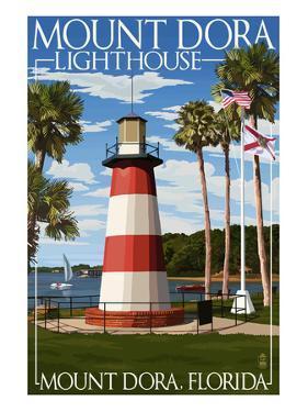 Mount Dora, Florida - Lighthouse by Lantern Press