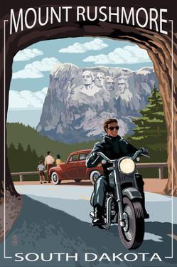 Mount Rushmore National Memorial, South Dakota - Tunnel Scene by Lantern Press