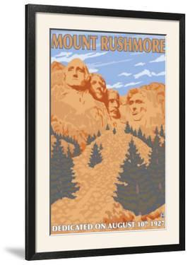 Mount Rushmore National Park, South Dakota by Lantern Press