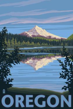 Mt. Hood from Lost Lake, Oregon by Lantern Press