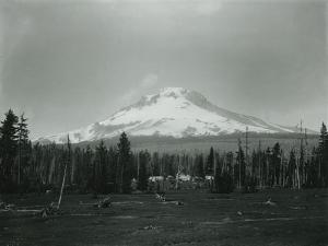 Mt. Hood, Oregon - Horse Meadow and Camp Photograph by Lantern Press