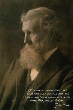 Muir Woods National Monument, California - John Muir Portrait by Lantern Press