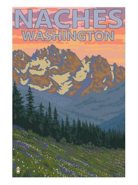 Naches, Washington - Spring Flowers by Lantern Press