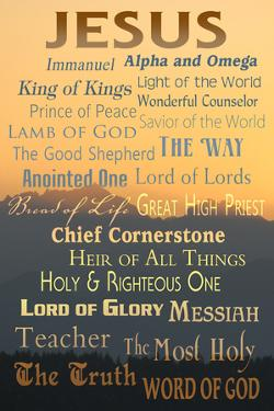 Names of God - Inspirational by Lantern Press