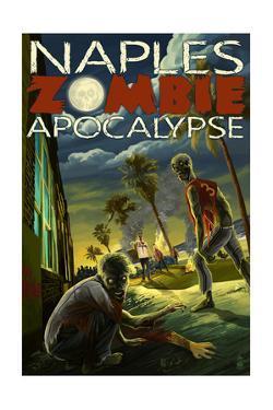 Naples, Florida - Zombie Apocalypse by Lantern Press