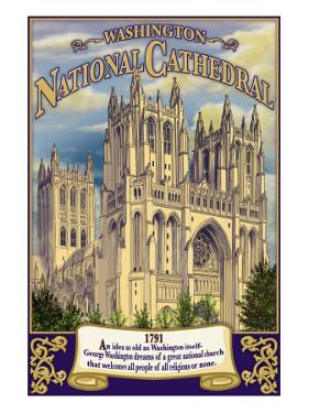 National Cathedral - Washington, Dc, c.2009 by Lantern Press