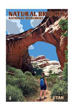 Natural Bridges National Monument, Utah - Sipapu Bridge by Lantern Press