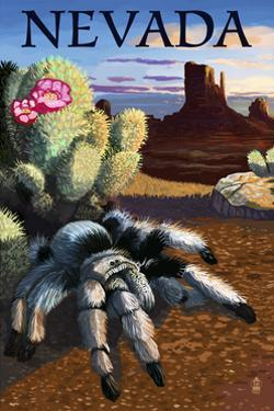 Nevada - Blond Tarantula by Lantern Press