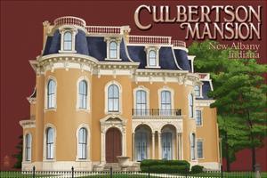New Albany, Indiana - Culbertson Mansion by Lantern Press