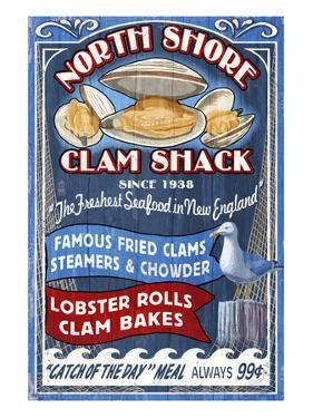 New England - Clam Shack by Lantern Press