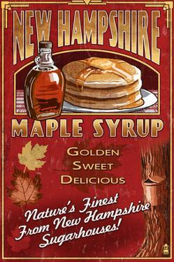 New Hampshire - Syrup by Lantern Press