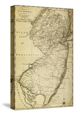 New Jersey - Panoramic Map by Lantern Press
