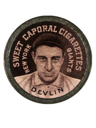 New York City, NY, New York Giants, Art Devlin, Baseball Card by Lantern Press