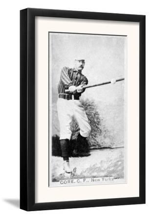 New York City, NY, New York Giants, George Gore, Baseball Card by Lantern Press