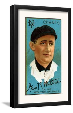 New York City, NY, New York Giants, George Wiltse, Baseball Card by Lantern Press