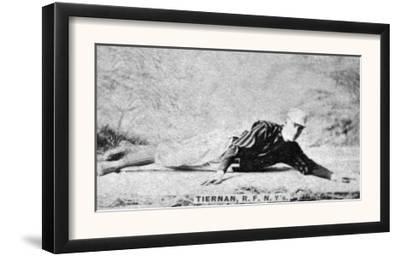 New York City, NY, New York Giants, Mike Tiernan, Baseball Card by Lantern Press