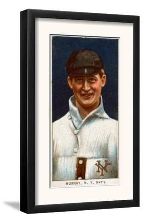 New York City, NY, New York Giants, Red Murray, Baseball Card by Lantern Press
