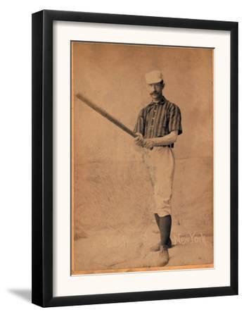 New York City, NY, New York Giants, Tim Keefe, Baseball Card by Lantern Press